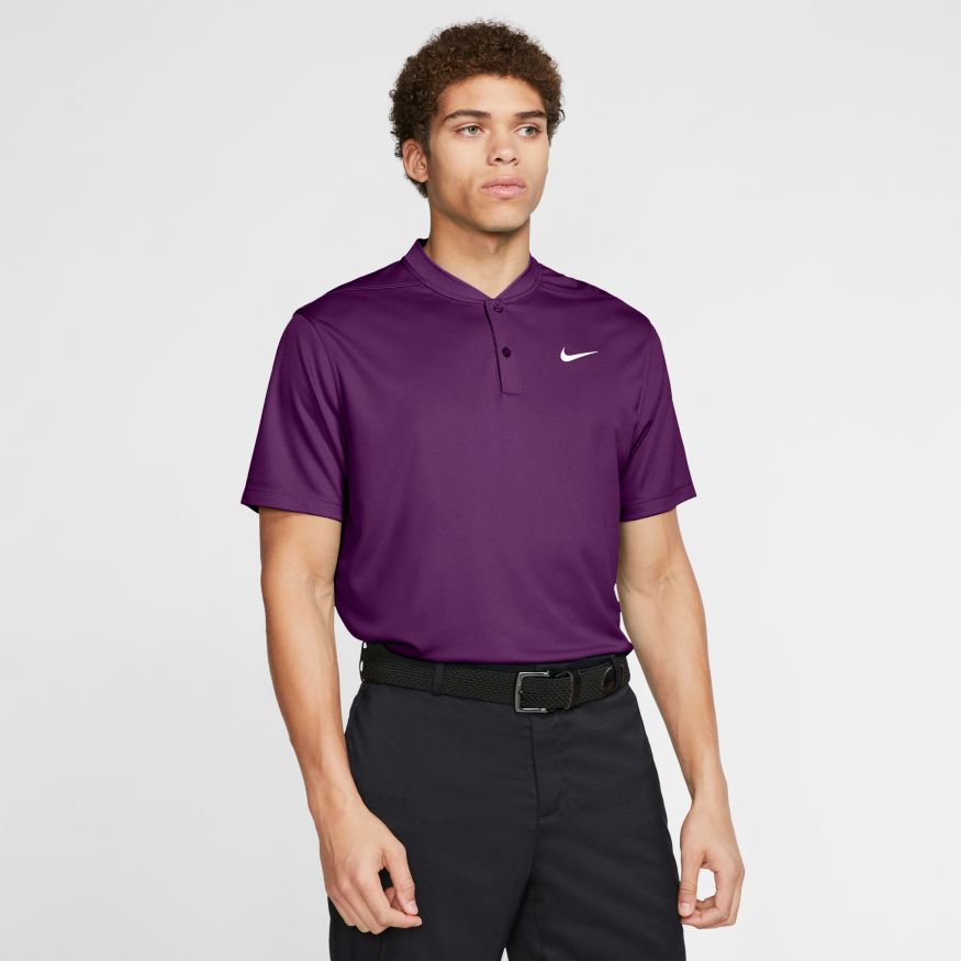 Nike Dri-Fit Victory Blade Color Men's Golf Polo Purple