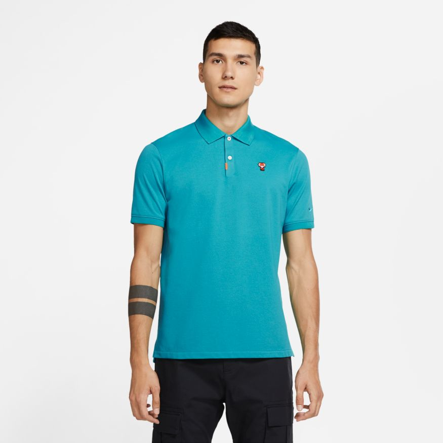 Nike Golf Polo 'Frank' Neptune Green