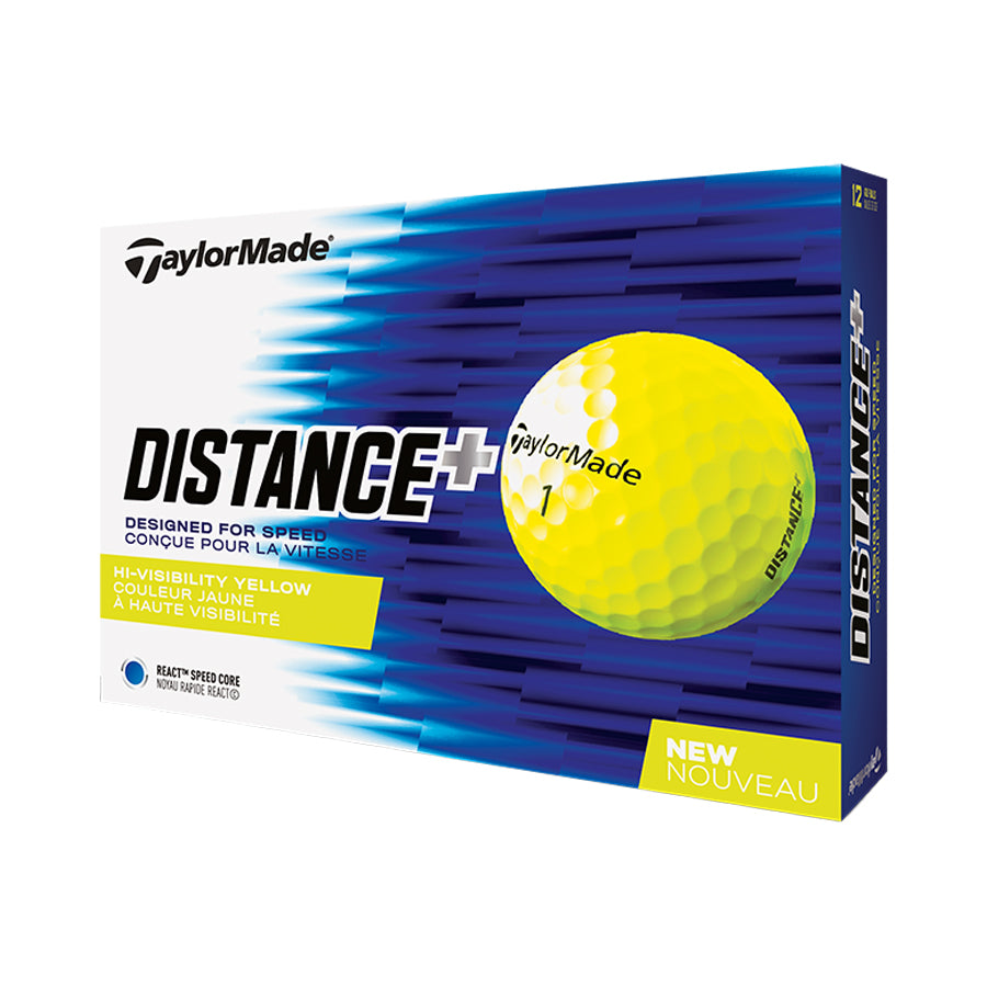 TaylorMade Distance+ Yellow