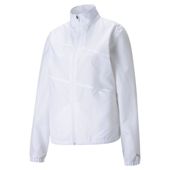 Women's First Mile Wind Golf Jacket Bright White