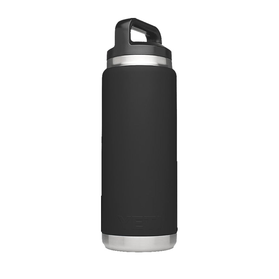 Yeti 26 Ounce Rambler Bottle with Chug Cap Black