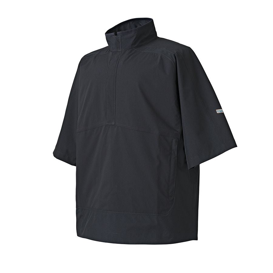 FootJoy Men's Hydrolite Short Sleeve Rain Shirt Black