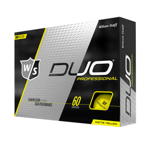 Wilson Staff Duo Professional Yellow