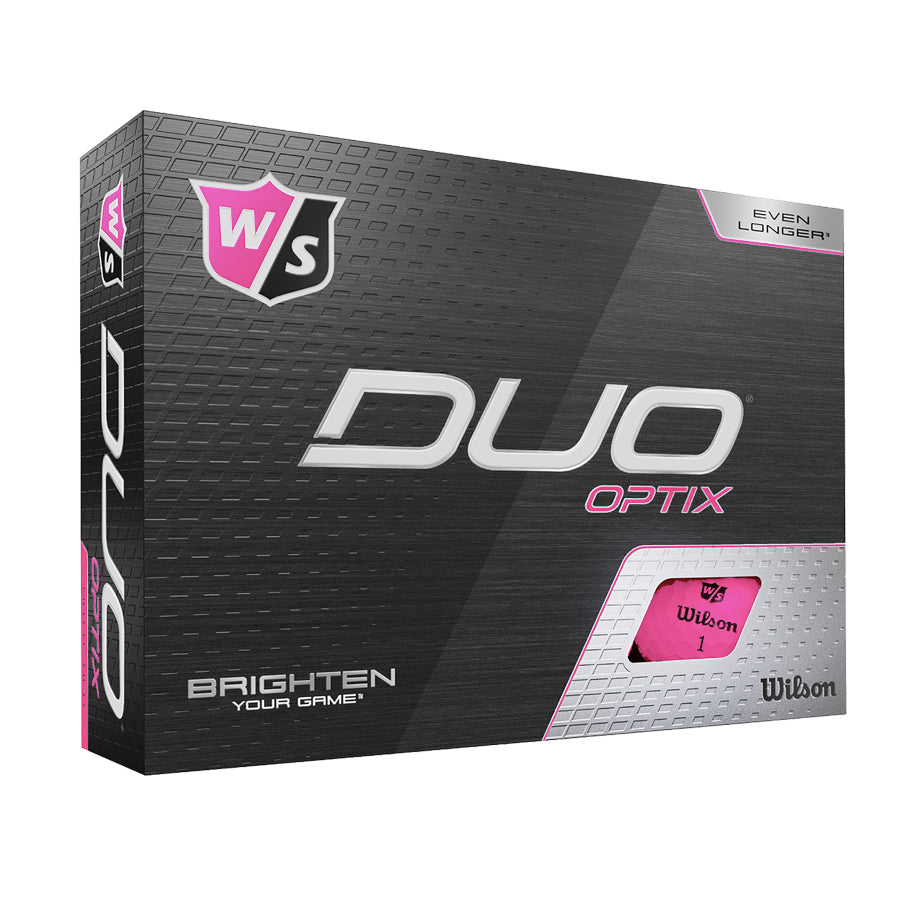 Wilson Staff Duo Optix Matte Pink