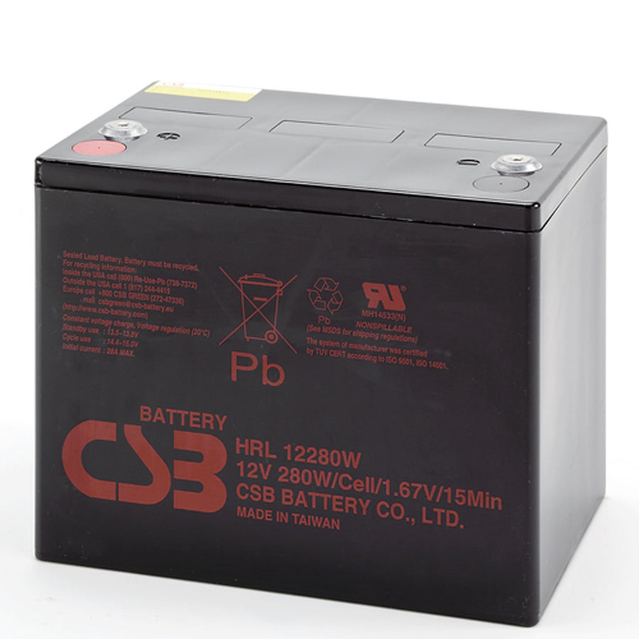 CSB HRL12280WFR High Rate Long Life Battery