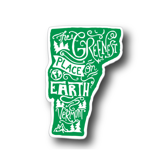 Decal - Greenest Place On Earth