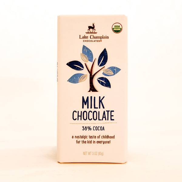 Organic Chocolate Bars - Lake Champlain Chocolates