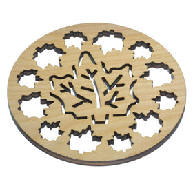 Solace Hardwood Trivets - Maple Landmark Woodworks