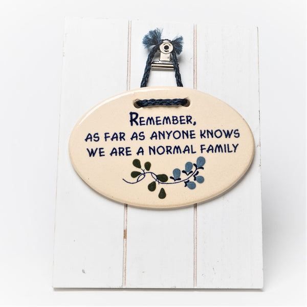 Saying Plaques - Mountaine Meadows Pottery