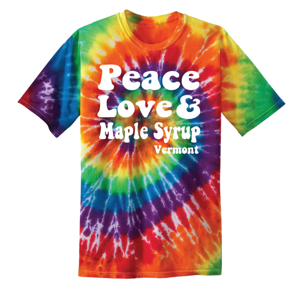 T-Shirt - Adult - Peace Love & Maple Syrup