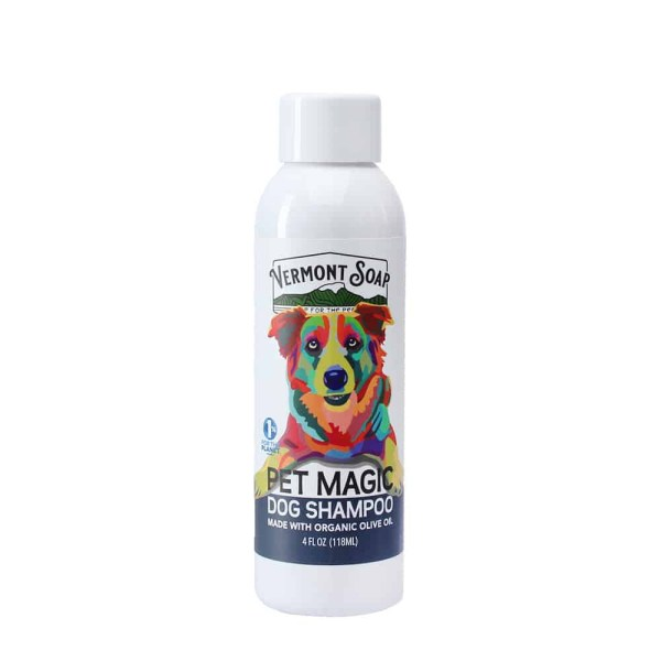 Pet Magic Dog Shampoo - Vermont Soap Organics