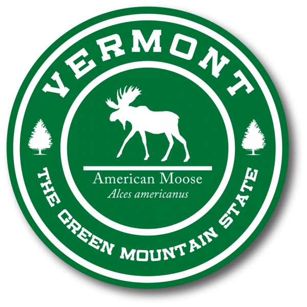 Decal - VT Green Mountain Moose