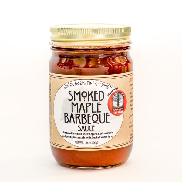 Smoked Maple Barbecue Sauce - Sugar Bob's Finest Kind