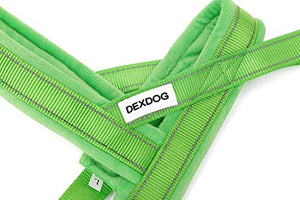 DEXDOG EZHarness Special Edition Fleece Dog Harness On/Off Quick | Easy Step in | Walk Vest