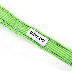 DEXDOG Adjustable Dog Leash Padded Strong Short Walking Leash for Dogs, Puppy Leash, Pet Leash - Puppy Supplies & Dog Accessories for Large Medium Dogs