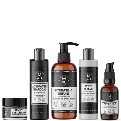 About Men Over 40 Skincare