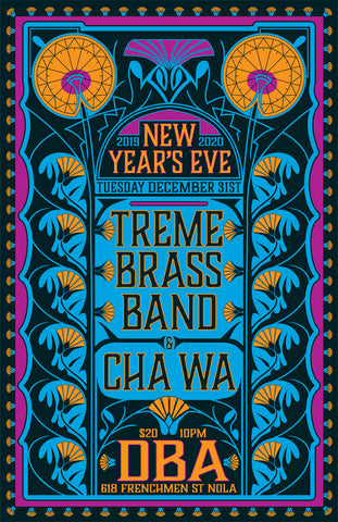 Treme Brass Band - December 31, 2019 Poster