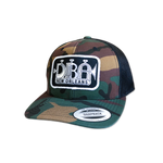 Camo Snap-Back Trumpet Logo Trucker Hat