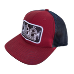 dba Cardinal Red & Black Trucker Hat