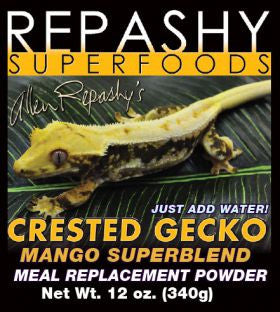Repashy Crested Gecko MRP Diet Mango Superblend 6 oz Jar - bean-farm