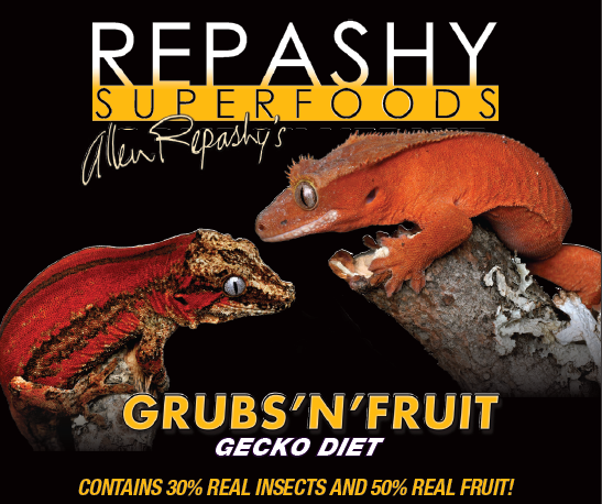 Repashy Grubs 'N' Fruit Gecko Diet 6 oz JAR - bean-farm