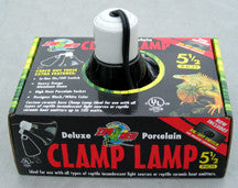 Deluxe Black Ceramic Clamp Lamp 5.5 in.