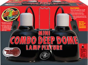 Mini Combo Deep Dome Lamp Fixture - bean-farm