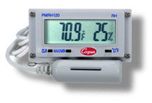 Digital Panel Thermometer/Hygro - bean-farm