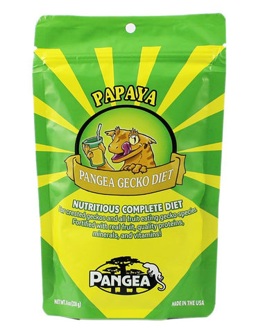 Pangea Fruit Mix Banana Papaya Complete Gecko Diet, 8 oz bag