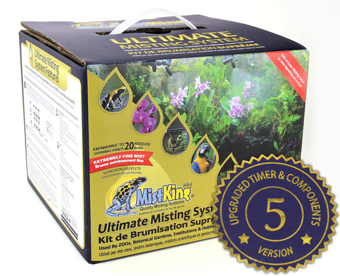 MistKing Mist Kit, Ultimate Misting System - 5th generation