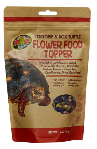 Tortoise & Box Turtle Flower Food Topper, 1.4 oz.