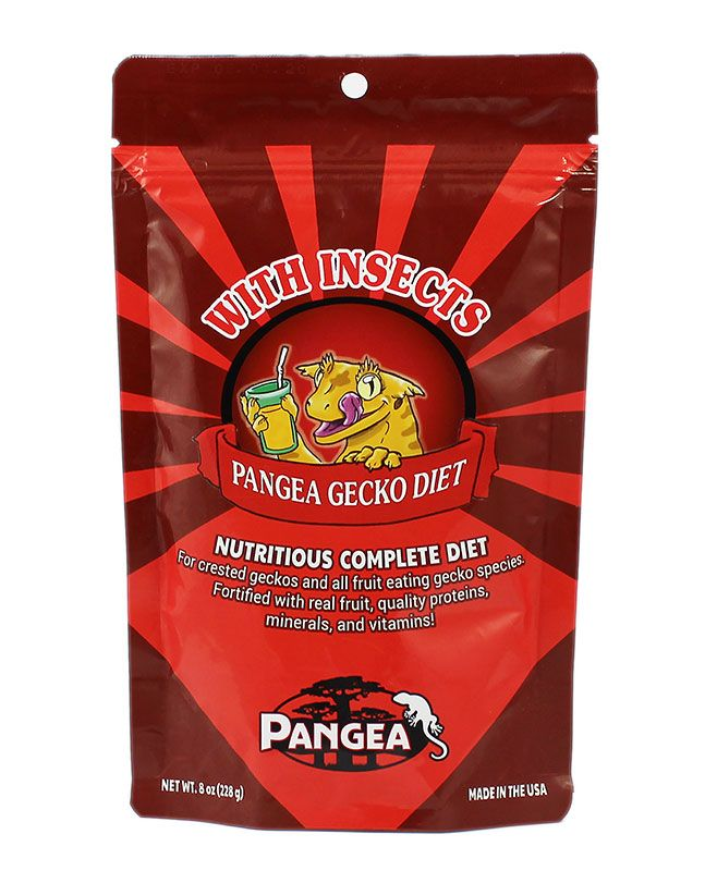 Pangea Fruit Mix With Insects Complete Gecko Diet, 8 oz bag - bean-farm