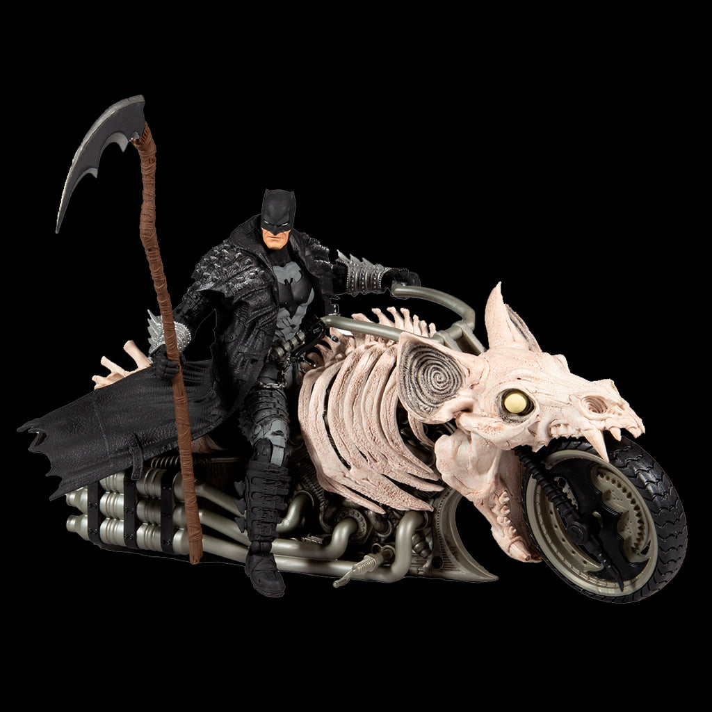 DC MULTIVERSE VEHICLES - BATMAN DEATH METAL MOTORCYCLE