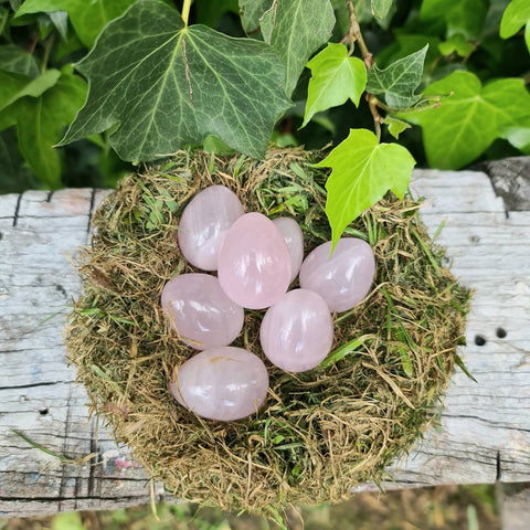 Rose Quartz Eggs