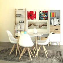 Load image into Gallery viewer, Dining Table Small 100cm White and Oak