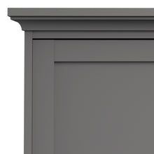 Load image into Gallery viewer, Wardrobe with 3 Doors in Matt Grey