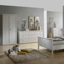 Load image into Gallery viewer, Wardrobe with 2 Doors in White