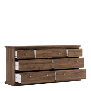 Chest of 8 Drawers Walnut