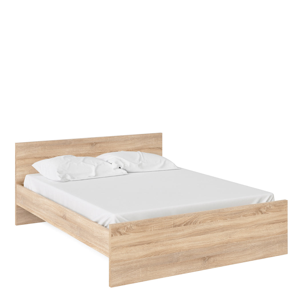 Euro King Bed 160 x 200cm Oak