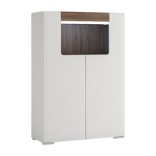 Load image into Gallery viewer, Low 2 Door Cabinet with Open Shelf inc. Plexi Lighting