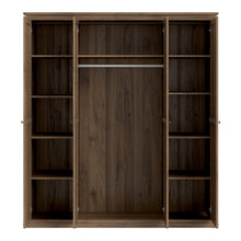 Load image into Gallery viewer, Wardrobe With 4 Doors In Walnut