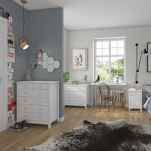 Load image into Gallery viewer, 2 Over 4 Drawer Chest White