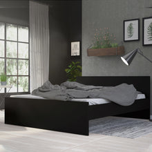 Load image into Gallery viewer, Euro King Bed 160 x 200cm Black Matt