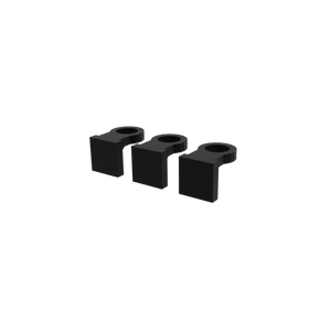 Gluable Frag Holder 3 Pack Back Side