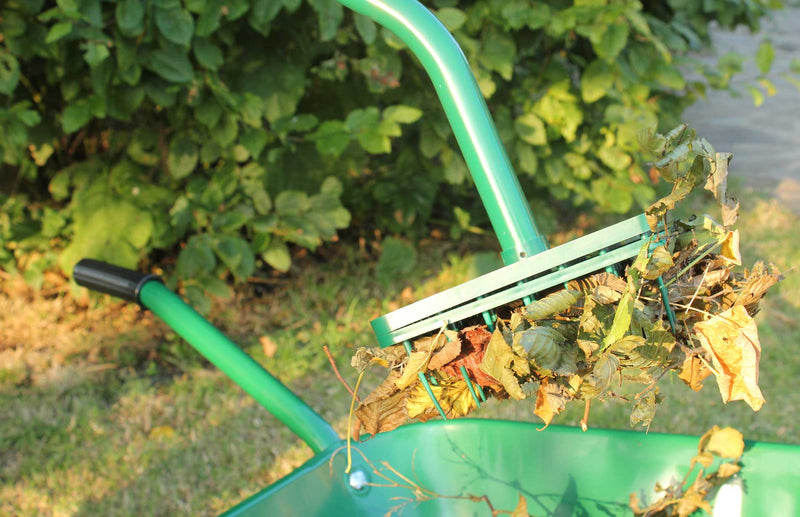 Haxnicks LeafPicker - the easy way to collect leaves without bending and back ache