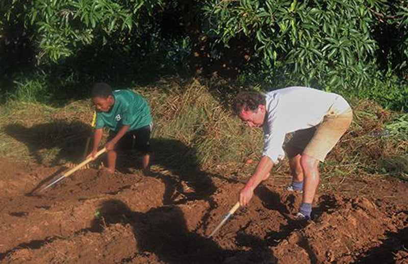 Haxnicks helps orphans in Zambia to Grow their Own