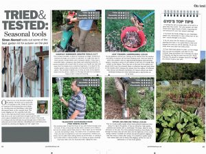 Leaf Picker_trial_Grow_Your_Own_Magazine_article