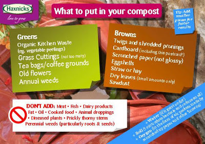 What to put in your Compost from Haxnicks
