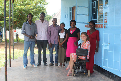 Lali Cardozo teaches at Heal Project School in Zambia