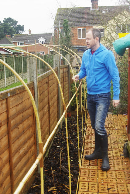 Using Haxnicks Easy Tunnels for a fence